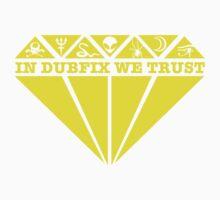 Dubfixx Diamond Yellow Kids Tee