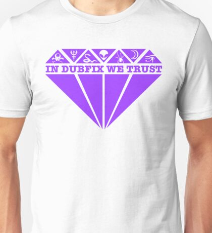 Dubfixx Diamond Purple Unisex T-Shirt