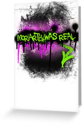 Moriarty was real (madness) by rhaneysaurus