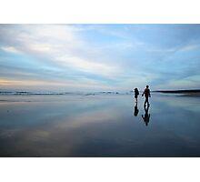 hunts beach reflection Photographic Print