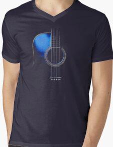 Blue Acoustic Guitar Hi-Lite T-Shirt