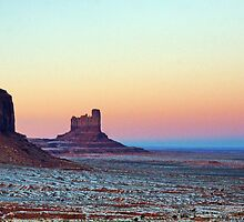 Monument Valley Sunset II by Harry Oldmeadow
