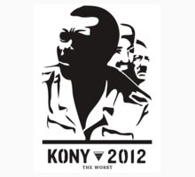 Kony 2012 (black & white) by MrYum