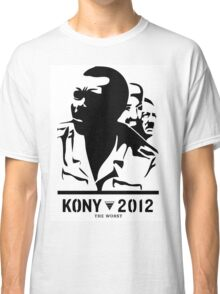 Kony 2012 (black & white) Classic T-Shirt