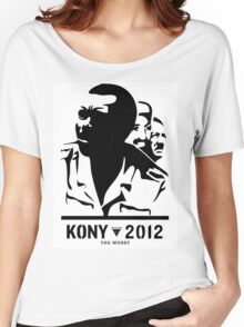 Kony 2012 (black & white) Women's Relaxed Fit T-Shirt