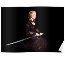 Portrait of a Welsh Princess Poster