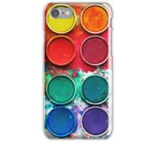Paintbox Color Palette iPhone Case/Skin