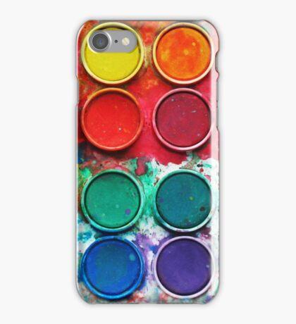 Paintbox Color Palette iPhone Case/Skin