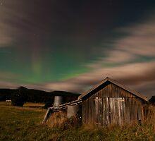 Aurora Australis, Southern Tasmania by NickMonk