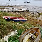 Ravenglass Boats by Simon Hickie