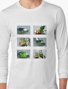 Matjes Salad for Fingerfood Long Sleeve T-Shirt
