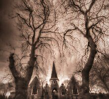 Chapel at Pontefract Cemetery by Nigel Butterfield