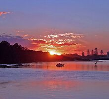 Sunset Forster NSW Australia by Sandy1949