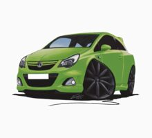 Vauxhall Corsa VXR Nurburgring Lime Green by Richard Yeomans