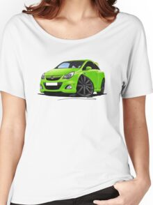 Vauxhall Corsa VXR Nurburgring Lime Green Women's Relaxed Fit T-Shirt