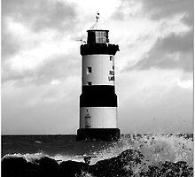 light house , penmon by tina williams