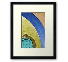 Portmeirion Archway and Door Framed Print