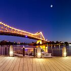 Brisbane Panorama at Dusk by Garry Schlatter