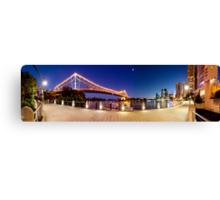 Brisbane Panorama at Dusk Canvas Print