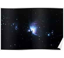 Messier 42, The Orion Nebula Poster