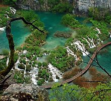 Plitvice National Park - Croatia by Arie Koene