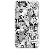 Manga collage iPhone Case/Skin