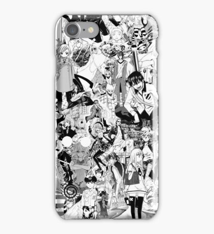 Manga collage iPhone Case/Skin