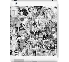 Manga collage iPad Case/Skin