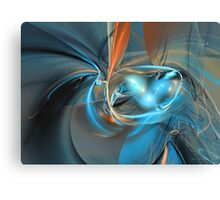 Edible blue Canvas Print