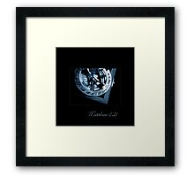 The Only True Blue Compass Framed Print