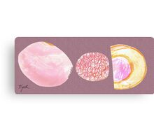 pink collage Canvas Print