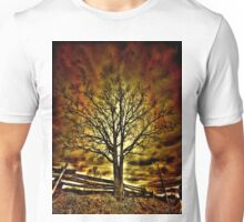 Creepy Tree Unisex T-Shirt