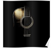 Acoustic Guitar Lite (please see description) Poster