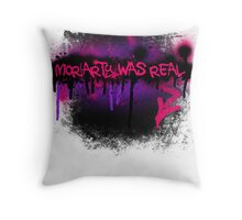 Moriarty was real (orchid) Throw Pillow