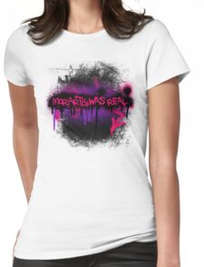 Moriarty was real (orchid) Womens Fitted T-Shirt