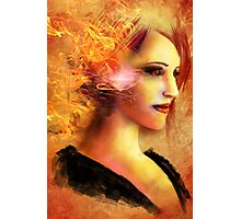 Queen of Fire Photographic Print