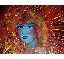 Sun Goddess Photographic Print