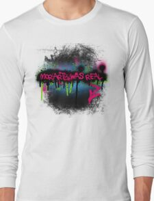 Moriarty was real (rave) Long Sleeve T-Shirt