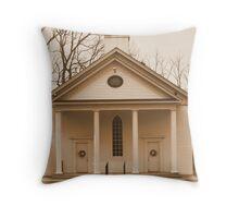 Lael Baptist 1890 Church Throw Pillow