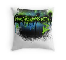 Moriarty was real (electric) Throw Pillow