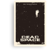 Dead Space Poster Canvas Print