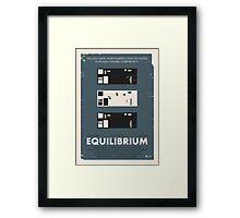 Equilibrium Poster Framed Print