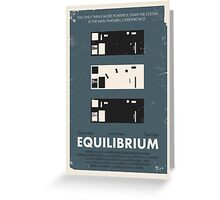 Equilibrium Poster Greeting Card