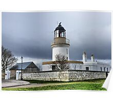Cromarty Lighthouse.  Poster