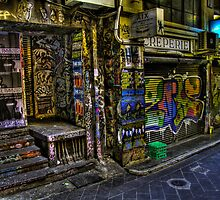 Degraves St 13 by John Ferguson