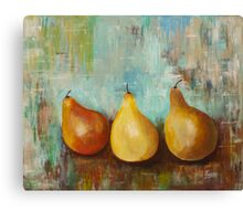 The Happy Pears- Acrylic painting Canvas Print