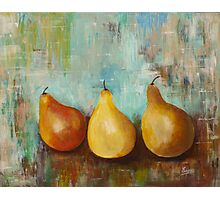 The Happy Pears- Acrylic painting Photographic Print