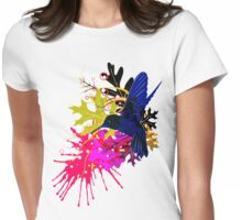 Humming bird Womens Fitted T-Shirt