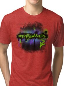 Moriarty was real (mania) Tri-blend T-Shirt
