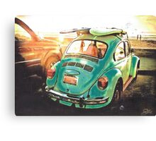 Bay Watch Beetle Canvas Print
